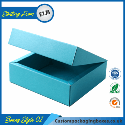Flanged Gift Box With Lid 01