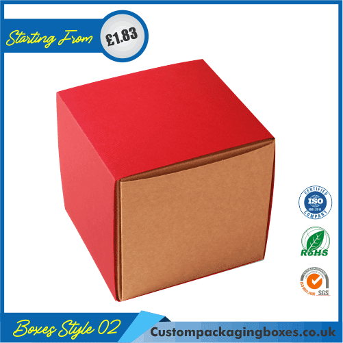 Flanged Gift Box With Lid 02