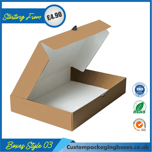 Flanged Gift Box With Lid 03