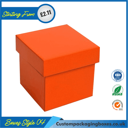 Flanged Gift Box With Lid 04