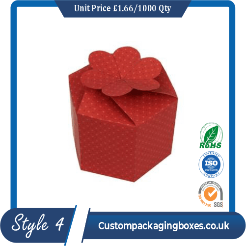 Gift Box With Flower Clasp