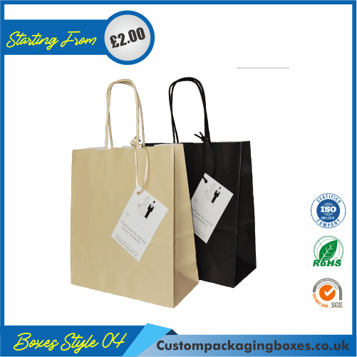 Gift bag with tag 04