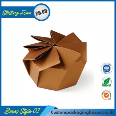 Hexagonal Origami Gift Box 01