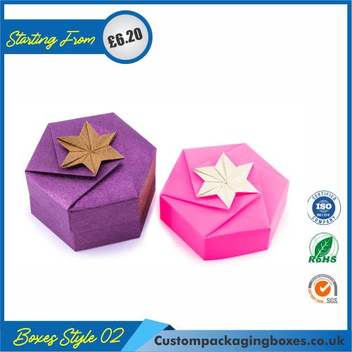 Hexagonal Origami Gift Box 02