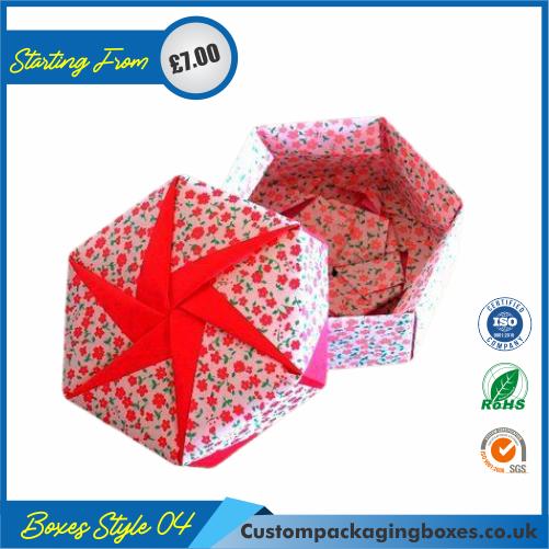 Hexagonal Origami Gift Box 04