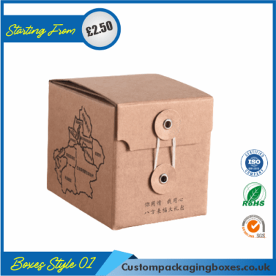 Kraft Gift Box with Lid 01