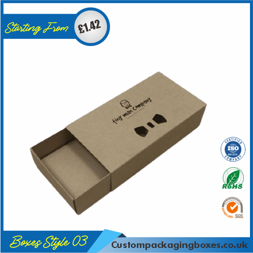 Kraft Gift Box with Lid 03