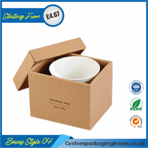 Kraft Gift Box with Lid 04