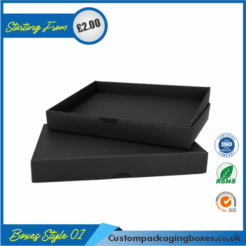 Pack of 100 Black Small Gift Boxes 01