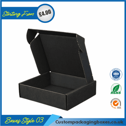 Pack of 100 Black Small Gift Boxes 03