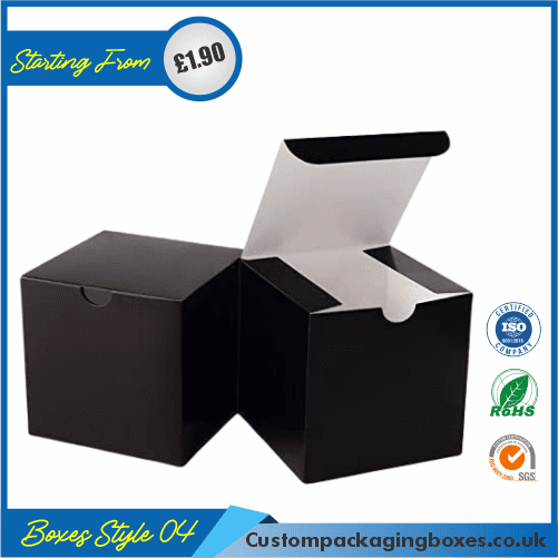 Pack of 100 Black Small Gift Boxes 04
