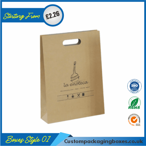 Paper Bag With Handle 01