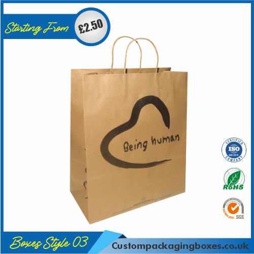 Paper Bag With Handle 03