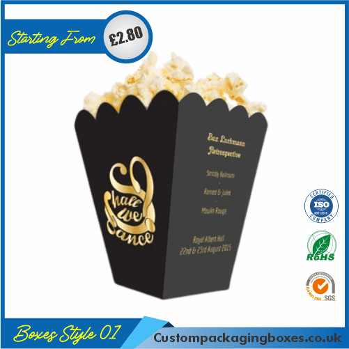 Popcorn Box for Parties and Events 01