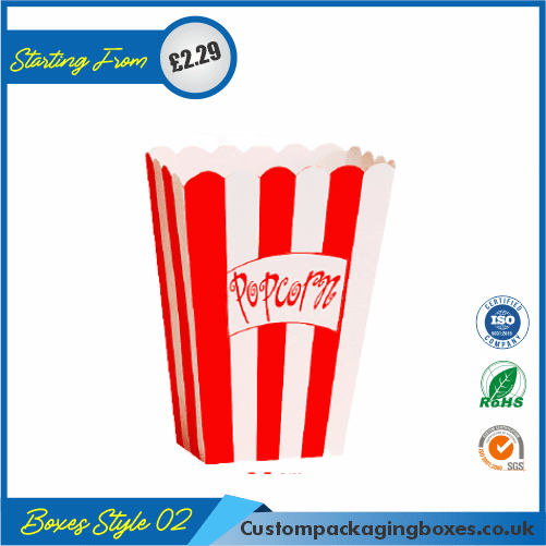 Popcorn Box for Parties and Events 02
