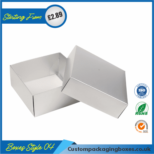 Presentation Box With Lid 04
