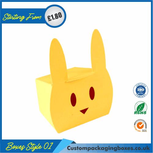 Rabbit shaped gift box 01