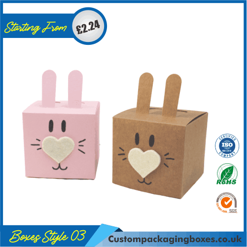 Rabbit shaped gift box 03