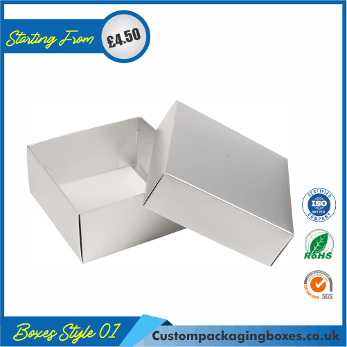 Rectangle Gift Boxes with Lids 01