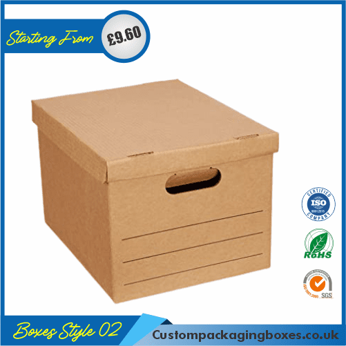 Shipping Boxes With Lid 02