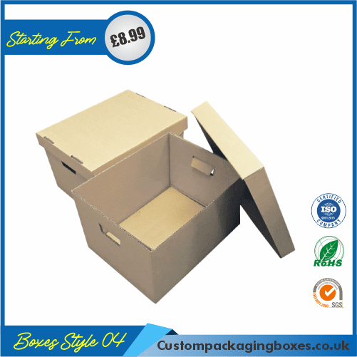 Shipping Boxes With Lid 04