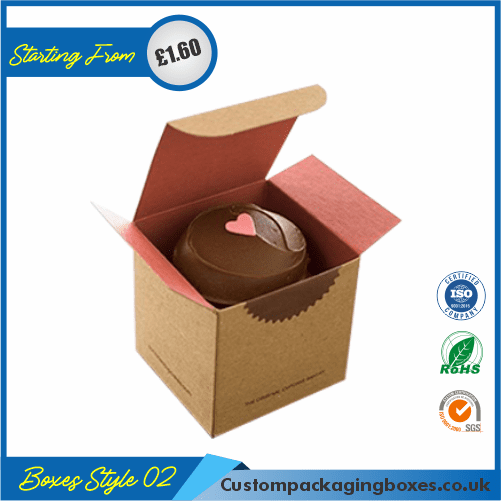 Simple Cupcake Box With Lid 02