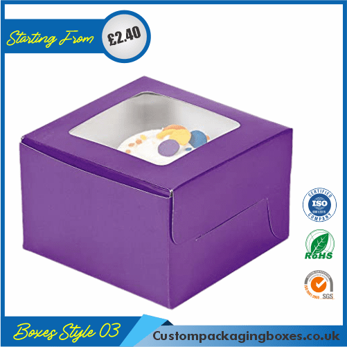 Simple Cupcake Box With Lid 03