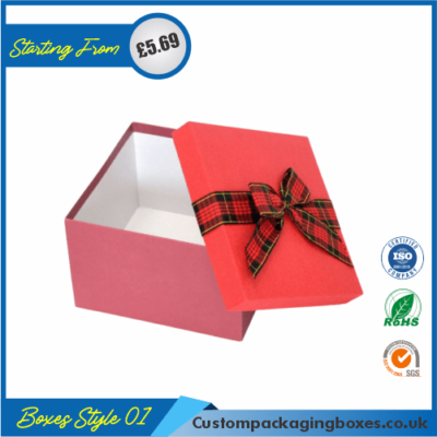 Simple Lidded Gift Box 01