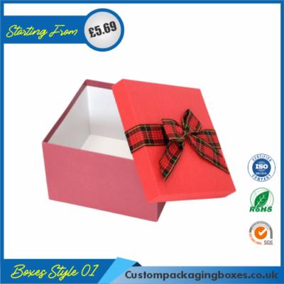 Simple Lidded Gift Box 01