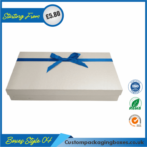 Simple Lidded Gift Box 04