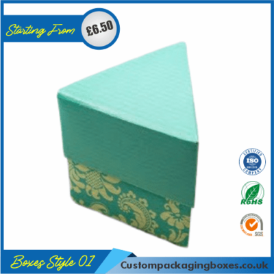 Simple Triangular Gift Box 01