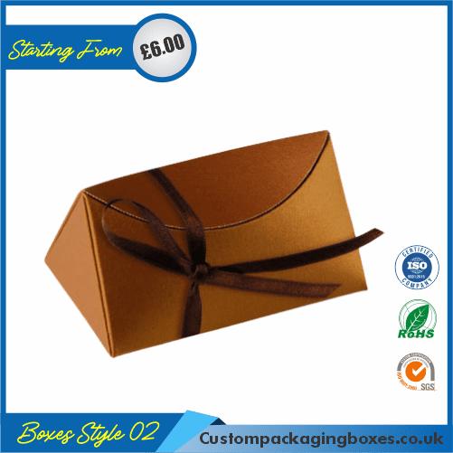 Simple Triangular Gift Box 02