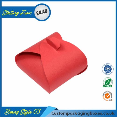 Simple Triangular Gift Box 03