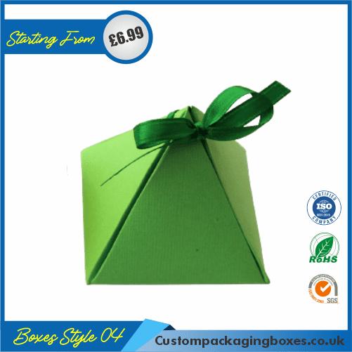 Simple Triangular Gift Box 04