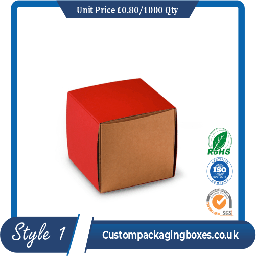 Small Gift Box With Sleeve