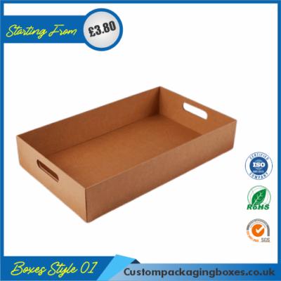 Square Cardboard Tray 01