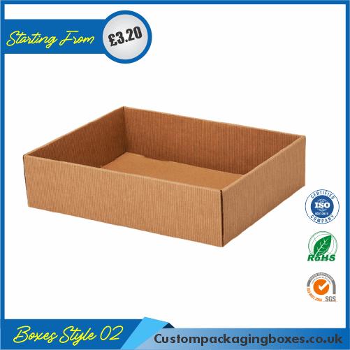 Square Cardboard Tray 02