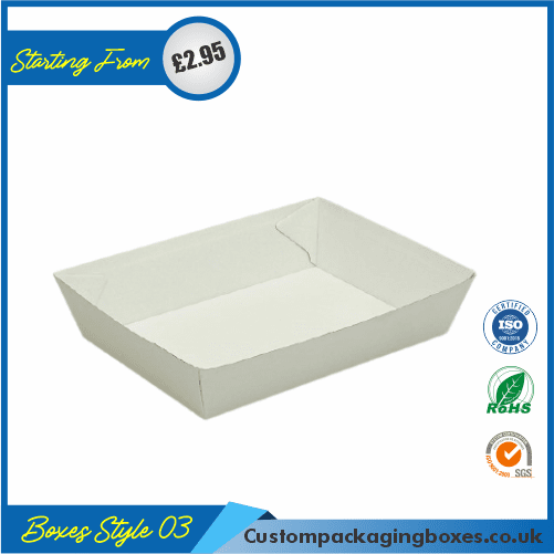 Square Cardboard Tray 03