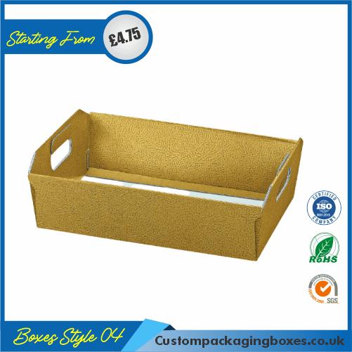Square Cardboard Tray 04