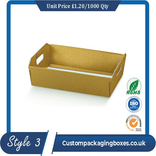 Square Cardboard Tray