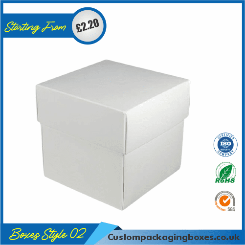 Square Gift Box With Lid 02