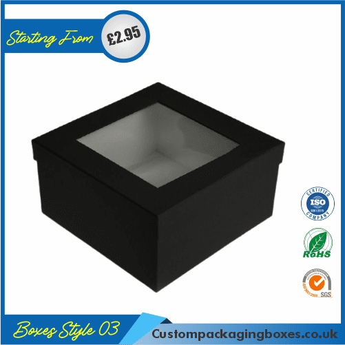 Square Gift Box With Lid 03