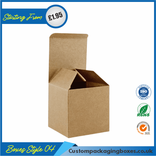 Square Gift Box With Lid 04