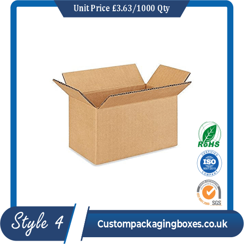 Square shipping boxes