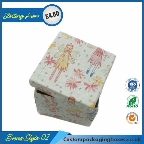 Vertical Gift Box With Lid 01