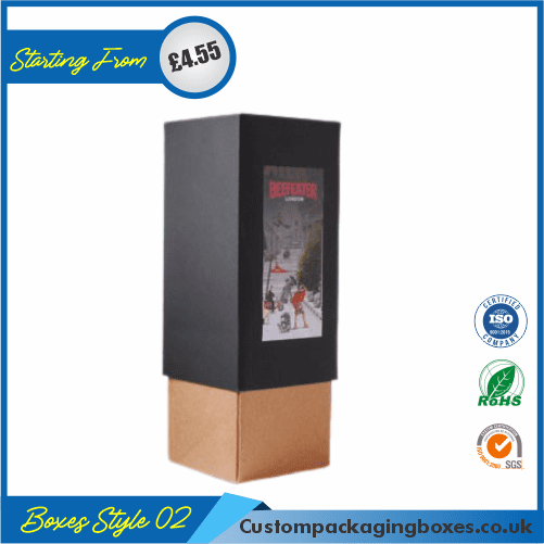 Vertical Gift Box With Lid 02
