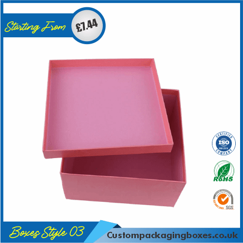 Vertical Gift Box With Lid 03