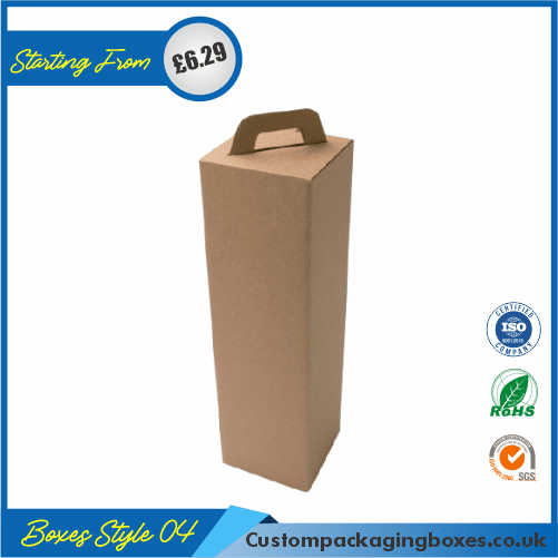 Vertical Gift Box With Lid 04