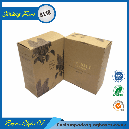 Anti-ageing Mask Packaging Boxes 01