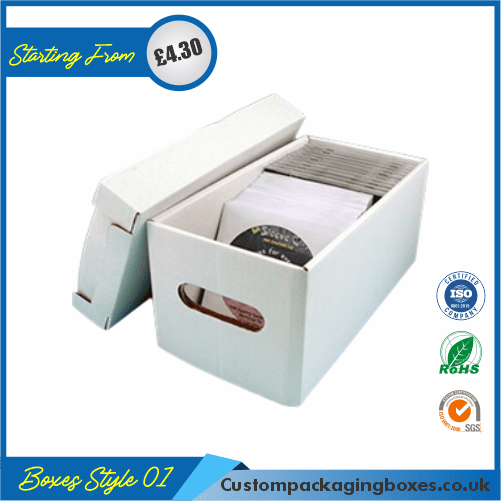 CD Storage Packaging Boxes 01